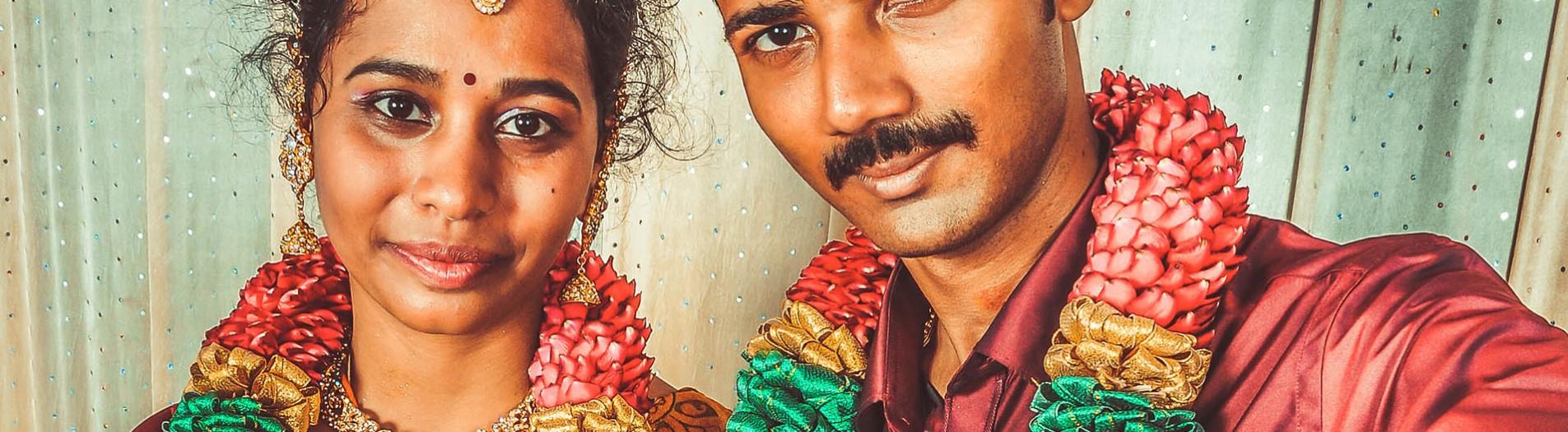 Prakash&santhya