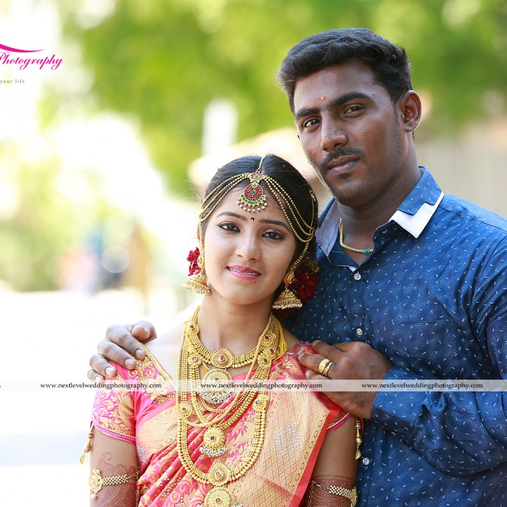 Karthik Raja & Pandi Selvi - Professional Candid Wedding Photography in Madurai